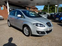 USED 2012 61 SEAT ALTEA 1.6 SE ECOMOTIVE CR TDI 5d 103 BHP SAT NAV,HEATED SEATS,CRUISE,DAB RADIO,ONE OWNER