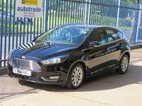 USED 2016 16 FORD FOCUS 1.5 TITANIUM TDCI 5dr Sat nav Bluetooth voice control Cruise Finance arranged Part exchange available Open 7 days