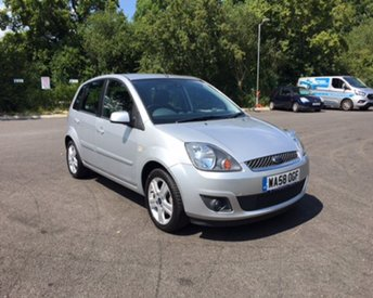 2008 FORD FIESTA 1.4 ZETEC CLIMATE £3499.00