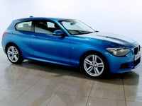 USED 2014 64 BMW 1 SERIES 1.6 116I M SPORT 3d AUTO 135 BHP 1 OWNER | BLUETOOTH | DAB |