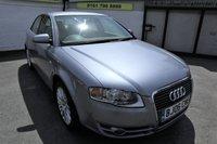 USED 2006 06 AUDI A4 2.5 TDI SE 4d AUTO 161 BHP * FULL HISTORY -CAM BELT DONE