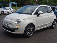 USED 2015 65 FIAT 500 1.2 LOUNGE 3d 69 BHP PanRoof,FSH,SuperCondition