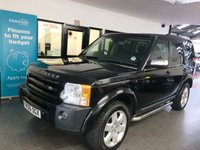 USED 2006 56 LAND ROVER DISCOVERY 2.7 3 METROPOLIS LE 5d AUTO 188 BHP Two owners, last gent since 2012, recently maintained by LRS including tensioner and belt in 2018. 30th June 2020 Mot with one minor advise. Finished in Metallic Java Black.
