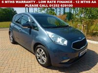 USED 2016 16 KIA VENGA 1.6 3 5d AUTO 123 BHP All retail cars sold are fully prepared and include - Oil & filter service, 6 months warranty, minimum 6 months Mot, 12 months AA breakdown cover, HPI vehicle check assuring you that your new vehicle will have no registered accident claims reported, or any outstanding finance, Government VOSA Mot mileage check. Because we are an AA approved dealer, all our vehicles come with free AA breakdown cover and a free AA history check.. Low rate finance available. Up to 3 years warranty available.