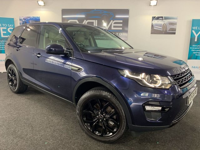2016 65 LAND ROVER DISCOVERY SPORT 2.0 TD4 HSE 5d AUTO 180 BHP