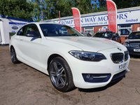 USED 2016 16 BMW 2 SERIES 1.5 218I SPORT 2d 134 BHP 0%  FINANCE AVAILABLE ON THIS CAR PLEASE CALL 01204 393 181