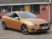 2012 VOLVO S60 2.0 D3 R-DESIGN (GREAT COLOUR) 4dr £6990.00