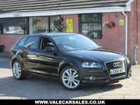 USED 2011 61 AUDI A3 2.0 TDI SPORT (CAM BELT CHANGED) 5dr FULL SERVICE HISTORY + CAM BELT CHANGED