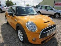 2015 MINI HATCH COOPER 2.0 COOPER S 3d AUTO 189 BHP £12495.00