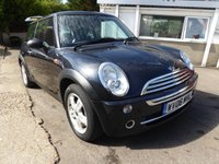 USED 2006 06 MINI HATCH ONE 1.6 ONE 3d 89 BHP P/X BARGAIN WITH SERVICE HISTORY AND MOT UNTIL JAN 2020