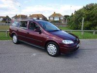 2003 VAUXHALL ASTRA 1.6 CLUB ESTATE 5 Dr AUTO 85 BHP RED 2 OWNERS £1695.00