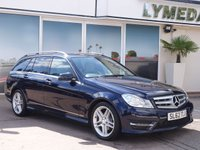 2012 MERCEDES-BENZ C CLASS 2.1 C220 CDI BLUEEFFICIENCY AMG SPORT 5d 168 BHP £7990.00