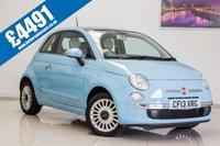 2013 FIAT 500 1.2 LOUNGE 3d 70 BHP £4491.00
