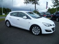 USED 2013 03 VAUXHALL ASTRA 2.0 ELITE CDTI S/S 5d 163 BHP FULL SERVICE HISTORY, FULL LEATHER, HEATED SEATS, SAT NAV, BLUETOOTH, AIR CON, 12 MONTHS MOT
