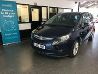 USED 2012 62 VAUXHALL ZAFIRA TOURER 2.0 SE CDTI S/S 5d 162 BHP Two owners- supplying dealer & one gent, full Vauxhall service history- 6 stamps. December Mot. Finished in Waterworld Pearl (Blue).