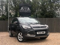 USED 2015 65 FORD KUGA 2.0 ZETEC TDCI 5dr 1 Year Parts & Labour Warranty