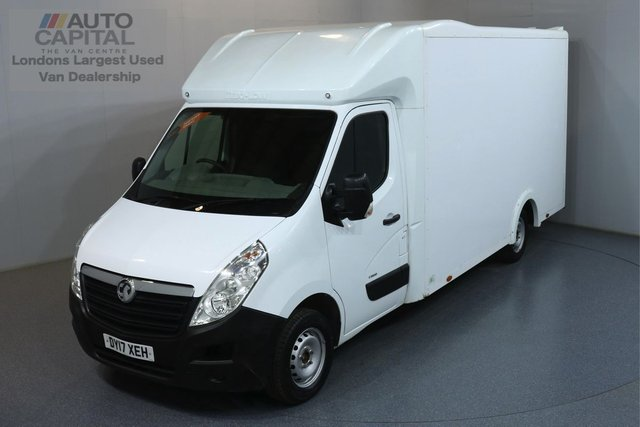 2017 17 VAUXHALL MOVANO 2.3 F3500 L3H1 LWB CDTI 123 BHP ULEZ COMPLIANT LUTON  ONE OWNER, SERVICE HISTORY