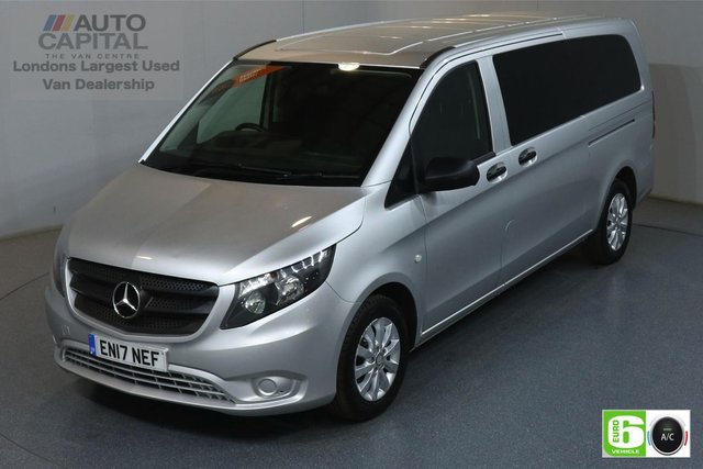 2017 17 MERCEDES-BENZ VITO 2.1 114 BLUETEC TOURER SELECT 136 BHP EURO 6 AIR CON 9 SEATS MINIBUS MOT UNTIL 26/06/2020