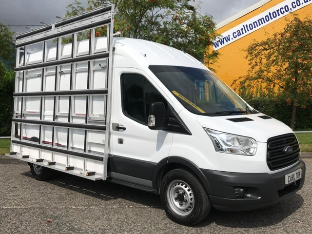 2015 15 FORD TRANSIT 350 TDCi 125 L3 H3 [ GLAZIER FRAIL / GLASS RACK ] LWB HIGH ROOF VAN