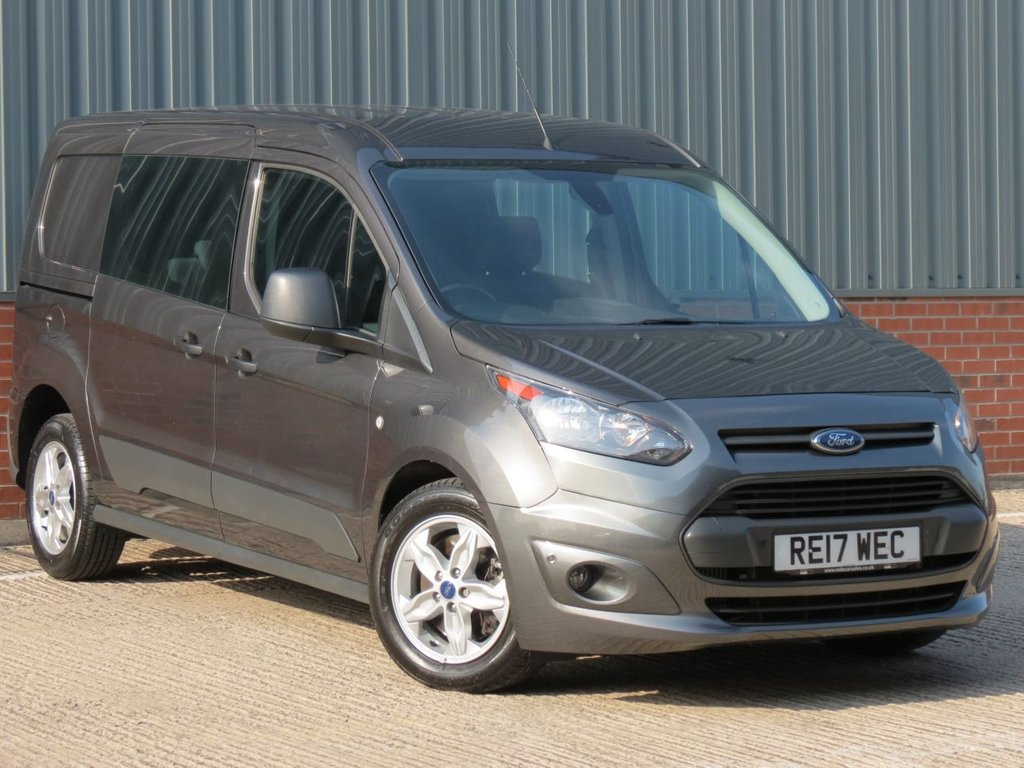 USED 2017 17 FORD TRANSIT CONNECT 1.5 230 TREND DCB 1d AUTO 118 BHP MASSIVE SPECIFICATION