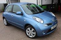 2010 NISSAN MICRA 1.2 N-TEC 5d AUTO 80 BHP £5500.00