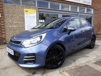 USED 2015 15 KIA RIO 1.4 3 ISG 5d 107 BHP FULL SERVICE HISTORY WITH GREAT SPECIFICATION AND £30 A YEAR ROAD TAX
