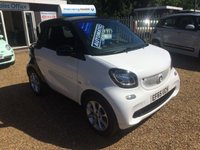 USED 2015 65 SMART FORTWO 1.0 PASSION PREMIUM 2d AUTO 71 BHP 130 POINT INSPECTION - FINANCE AVAILABLE