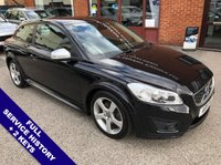 """USED 2011 11 VOLVO C30 2.0 D3 R-DESIGN 3DOOR 148 BHP Cruise Control   :   Phone Bluetooth Connectivity   :   Climate Control / Air Conditioning      R-Design Steering Wheel / Front Seats   :   Heated Front Seats   :   Black Leather Upholstery      17"""" Alloy Wheels   :   2 Keys   :   Full Service History"""