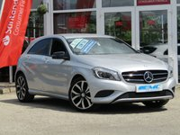 "USED 2015 64 MERCEDES-BENZ A CLASS 1.5 A180 CDI BLUEEFFICIENCY SPORT 5d 109 BHP STUNNING, £20 ROAD TAX, MERCEDES A CLASS A180 CDI SPORT (BLACK PACK). Finished in SILVER METALIC with contrasting PART LEATHER trim. This A class certainly looks smart, with its slim lights and smooth body panels. There's plenty of room in the front and the back which will suit the average family. Features include Part Leather, Sat Nav, 18"" Alloys, Tinted windows, BLACK PACK, Only £20 Road tax and much more."