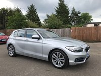 2015 BMW 1 SERIES 1.5 116D SPORT 5d LOW MILEAGE AND ONE OWNER FROM NEW £10000.00