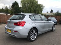 USED 2015 15 BMW 1 SERIES 1.5 116D SPORT 5d LOW MILEAGE AND ONE OWNER FROM NEW NO DEPOSIT  PCP/HP FINANCE ARRANGED, APPLY HERE NOW