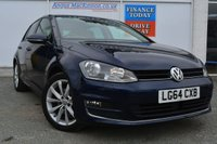 USED 2014 VOLKSWAGEN GOLF 2.0 GT TDI BLUEMOTION TECHNOLOGY DSG 5d AUTO 148 BHP PREVIOUSLY LOCALLY OWNED