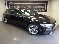 USED 2013 62 AUDI A6 AVANT 3.0 AVANT TDI S LINE 5d + NAV + LEATHER + HISTORY + EXTRAS