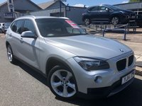 USED 2014 14 BMW X1 2.0 XDRIVE18D SE 5d 141 BHP LEATHER + HEATED SEATS + PRIVACY GLASS + BMW HISTORY