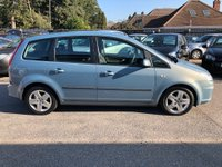 USED 2008 58 FORD C-MAX 1.6 16v Style 5dr GREAT VALUE FAMILY CAR, AIR CONDITIONING, AUX/IPOD PORT, SUPPLIED WITH A NEW MOT