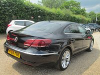 USED 2013 63 VOLKSWAGEN CC 2.0 GT TDI BLUEMOTION TECHNOLOGY 4d 175 BHP FULL SERVICE HISTORY - SEE IMAGES
