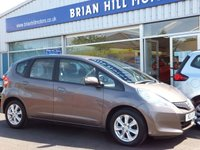 USED 2011 11 HONDA JAZZ 1.3 i-VTEC ES 5dr (100bhp) ....TWO OWNERS ONLY.  FULL SERVICE HISTORY. CLIMATE CONTROL. ALLOY WHEELS. FRONT/REAR ELECTRIC WINDOWS.