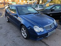 USED 2006 56 MERCEDES-BENZ C CLASS 2.1 C220 CDI SE 2dr DIESEL AUTOMATIC SUPPLIED WITH A NEW MOT