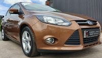 USED 2014 14 FORD FOCUS 1.6 ZETEC NAVIGATOR ECONETIC TDCI START/STOP 5d 104 BHP 2 Owners - 5 Services - Sat Nav - £20 Tax