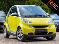 USED 2007 57 SMART FORTWO CABRIO 1.0 PASSION 2d 70 BHP