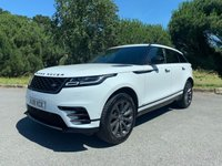 USED 2018 18 LAND ROVER RANGE ROVER VELAR 2.0 R-DYNAMIC SE 5d AUTO 238 BHP ONE OWNER D240 R DYNAMIC SE WITH ONLY 11000 IN WHITE WITH BLACK LEATHER