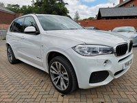 USED 2016 16 BMW X5 3.0 XDRIVE30D M SPORT 5d AUTO 255 BHP FBSH+LEATHER+SATNAV+IDDA+B/T