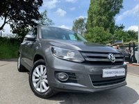 "USED 2015 64 VOLKSWAGEN TIGUAN 2.0 MATCH TDI BLUEMOTION TECH 4MOTION DSG 5d AUTO 139 BHP 2KEYS+NAV+17""ALLOYS+PRIVGLASS+CLIMATE+PARK+NAV+HISTORY+CLEAN CAR+"