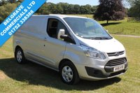 2016 FORD TRANSIT CUSTOM 290 LIMITED LR P/V