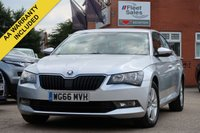 USED 2016 66 SKODA SUPERB 1.6 S TDI 5d 118 BHP 3 MONTHS AA WARRANTY AND 12  MONTHS AA BREAKDOWN INCLUDED