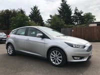 USED 2015 15 FORD FOCUS 1.5 TDCi TITANIUM 5d WITH MEDIA CONNECTIVITY-BLUETOOTH NO DEPOSIT ECP/PCP/HP FINANCE ARRANGED, APPLY HERE NOW