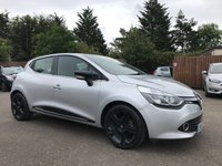 USED 2015 65 RENAULT CLIO 0.9 TCE DYNAMIQUE S NAV 5d VERY LOW MILEAGE WITH SAT NAV AND ALLOYS  NO DEPOSIT ECP/PCP/HP FINANCE ARRANGED, APPLY HERE NOW