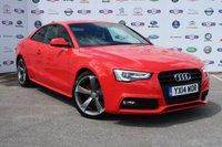 2014 AUDI A5 2.0 TDI BLACK EDITION 2d 177 BHP £12995.00