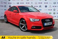 USED 2014 14 AUDI A5 2.0 TDI BLACK EDITION 2d 177 BHP 1 OWNER, FSH, £30 TAX, BIG MPG