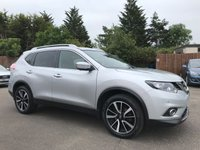 USED 2016 16 NISSAN X-TRAIL 1.6 DCI N-TEC 5d  WITH ONE OWNER FROM NEW AND NISSAN SERVICE HISTORY NO DEPOSIT ECP/PCP/HP FINANCE ARRANGED, APPLY HERE NOW